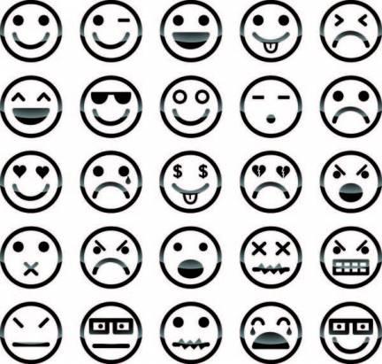 生活中有趣的Face Book,只要有3點構成三角形,人就會腦補出臉部出來
