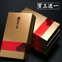 【養蔘人家】韓國鮮採蔘禮盒‧食中之軉 ﹝200克 盒,買三送一,共四盒入﹞