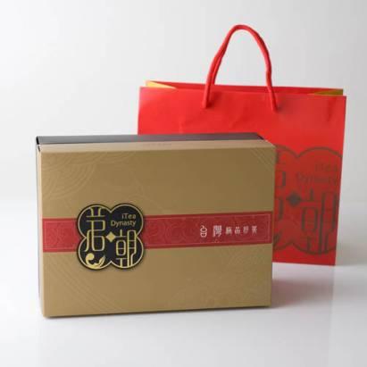 iTea‧茗朝茶葉禮盒(清香阿里山高山茶+濃香凍頂烏龍茶)