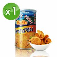 【伊仕媚】泰國小漁村‧厚片魚酥 60g 瓶*1瓶入