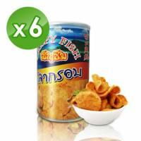 【伊仕媚】泰國小漁村‧厚片魚酥 60g 瓶*6瓶入
