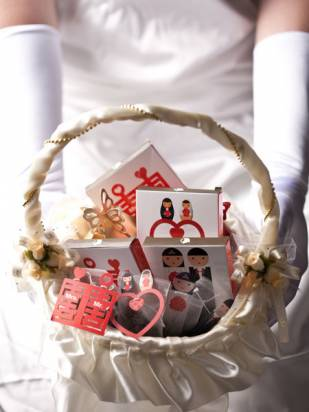 婚禮小物-雙喜臨門(300組)