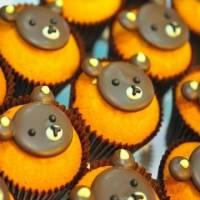 一森手工烘焙坊◆◇卡哇依小熊杯子蛋糕◇◆可愛的杯子蛋糕