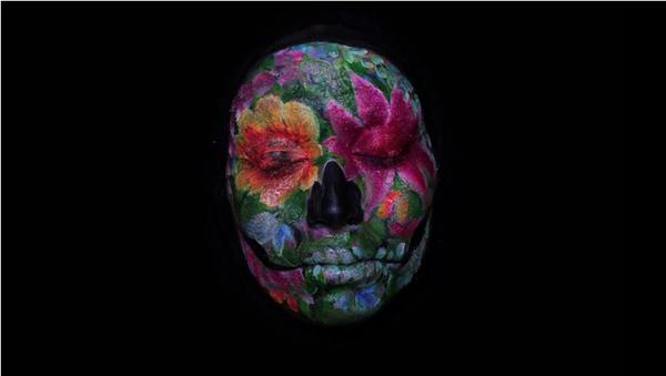 自拍 +化妝以五天製成有趣定格動畫作品