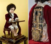 機械工藝的奇蹟!高齡240歲的超精緻寫字木偶