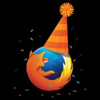Firefox 滿九歲了!生日快樂!