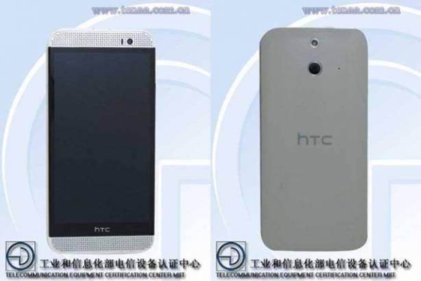 HTC One (M8) Ace 前後外觀已在中國工信部網站曝光