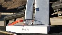 用 Google Glass 看著 iPad Air 被射殺