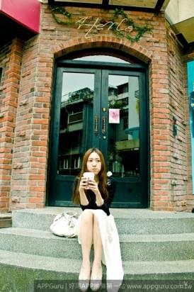 【正妹話APP】透明系美少女❤Sheena的美食攝影APP