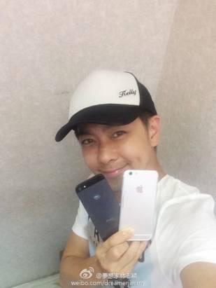 iPhone「洩漏者」林志穎又來了: 這次拿著 iPhone 6 拍照