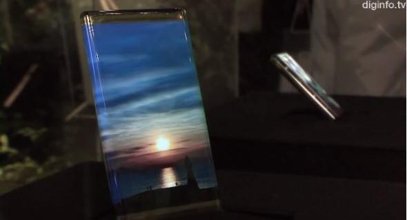 另一形態的曲面手機!日本 SEL 研發成功