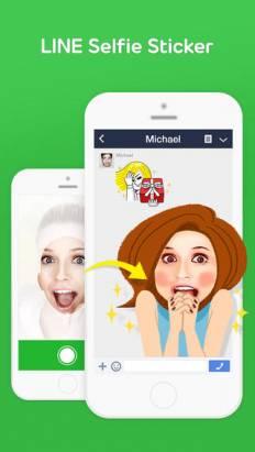 "LINE 超好玩新 App: ""Selfie Sticker"" 讓你自拍變身搞怪 LINE 貼紙"