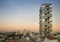 以疊疊樂積木為靈感建造的高樓