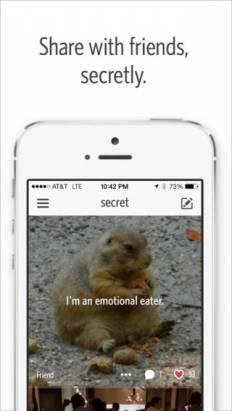 """[新App推介]放心公開說秘密: 超熱""""Secret"""" App讓你匿名分享, 猜猜是哪個朋友悄悄話"""