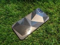 LiLycoco x Hi Fasion 碳纖維超輕量手機配件 橫立保護皮套