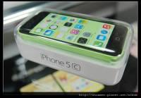 Apple iPhone 5c 亮綠開箱
