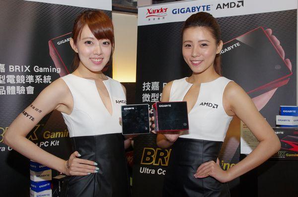 技嘉 BRIX 微型電腦 AMD 系列在台推出,高階款式搭載 R9 M275X 獨立顯卡