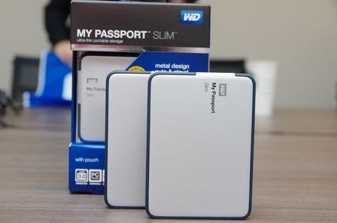 WD 外接硬碟容量再升級, My Passport Slim 提供達 2TB 大容量
