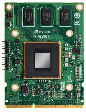 針對專業電競顯示器的順暢顯示體驗, NVIDIA 公佈 G-Sync 影像處理模組