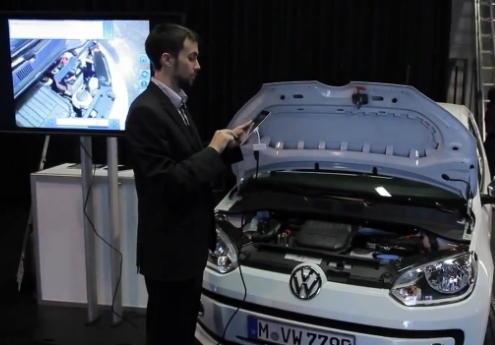 [Dimension]VW 利用 AR 擴增實境技術為愛車進行「健診」