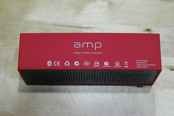 a.m.p SP1 隨身藍牙無線行動喇叭 實測