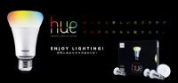 售價近八千元的LED燈泡,可用手機平版控制明暗色調,也可和FB互動