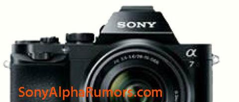 Sony A7 上半部外觀不清晰照曝光,此外 RX10 很可能搭載 24-200mm f2.8 鏡頭與 1 吋元件