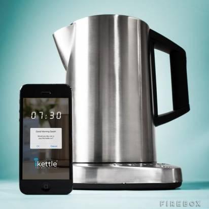 賴床者救星,擁有WiFi機能的水壺iKettle要價近4700元台幣
