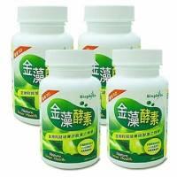 《遠東生技》金藻酵素4瓶 200mg 300錠 瓶