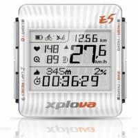 Xplova E5 GPS 自行車錶小全配 樂活白