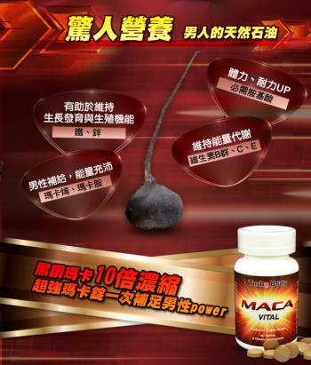 【Turbo Body】雄霸至尊套組(精益猛強效瑪卡錠x6+鋅x3+精胺酸x6)