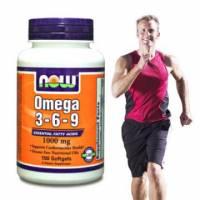 《NOW健而婷》綜合必需脂肪酸-omega3-6-9 100顆 瓶