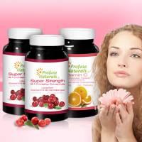 【加拿大優沛康】36倍蔓越莓500mg濃縮膠囊 2瓶+維他命C 1000mg 8小時緩釋錠 1瓶