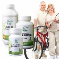 VohasWay樂蔬康-素食健康大補帖-B群+葉黃素飲+葡萄糖胺(3瓶組)