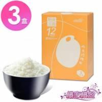纖吃纖盈 低卡珍珠米3盒組 蒟蒻米