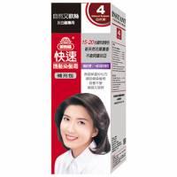 美吾髮 美吾髮快速護髮染髮霜-4號自然栗 補充包