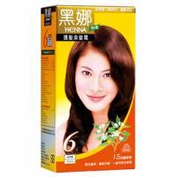 美吾髮 黑娜快速護髮染髮霜-6號自然褐
