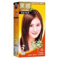 美吾髮 黑娜快速護髮染髮霜-3號淺栗
