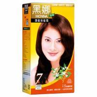 美吾髮 黑娜快速護髮染髮霜-7號自然黑褐