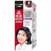 美吾髮 美吾髮快速護髮染髮霜-6號自然褐 補充包
