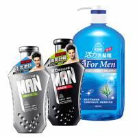 美吾髮 活力男性特惠組:買活力激惑潔淨露2瓶,贈美吾髮活力男性洗髮精