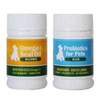 【保健優惠】強化免疫!改善過敏搔癢 拉肚子 百益康《善益菌+黃金海寶油》 小
