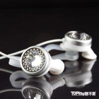 [【水晶耳機•台北工作室手做品】 交響18 星鑚耳機--極地之星