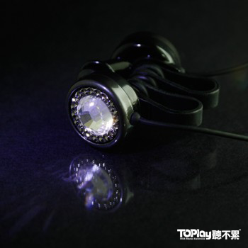 【水晶耳機•台北工作室手做品】 交響18 星鑚耳機-銀河之星