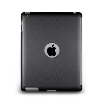 New iPad-Glimmer Series-珠光硬殼背蓋-星空黑