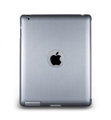 New iPad-Glimmer Series-珠光硬殼背蓋-珍珠白