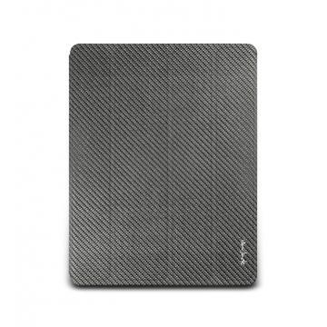 new iPad-玻纖對開保護套-深灰色