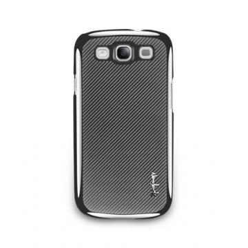 Galaxy S3-玻纖保護背蓋-深灰