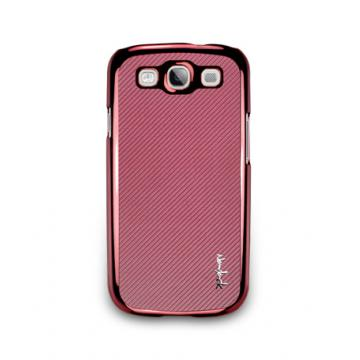 Galaxy S3-玻纖保護背蓋-波斯紅