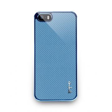 iPhone5/5s- Corium Series-玻纖保護背蓋-天空藍